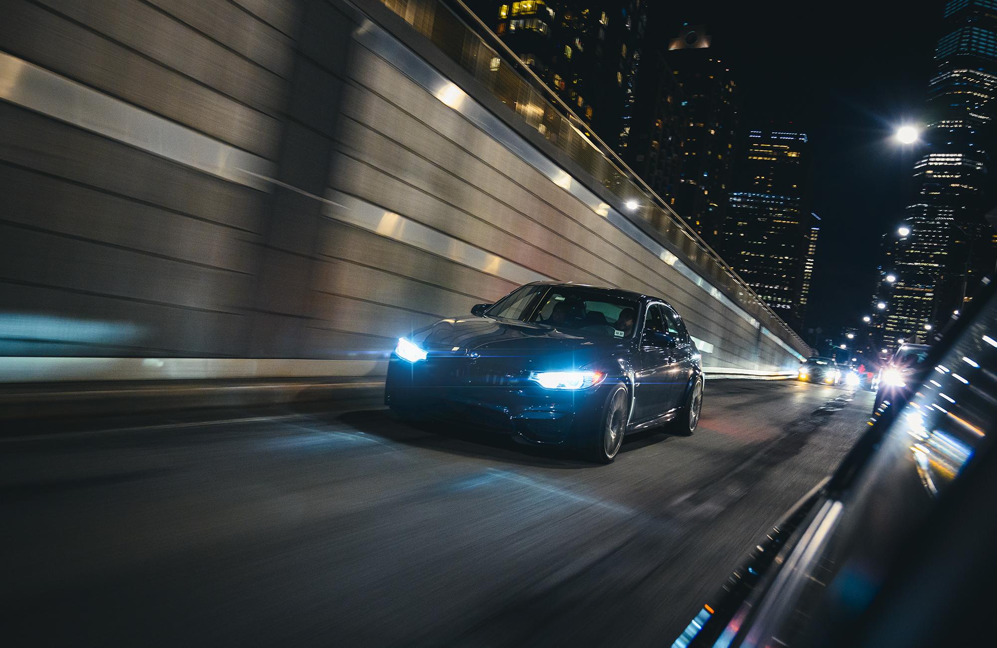 BMW M3 roller