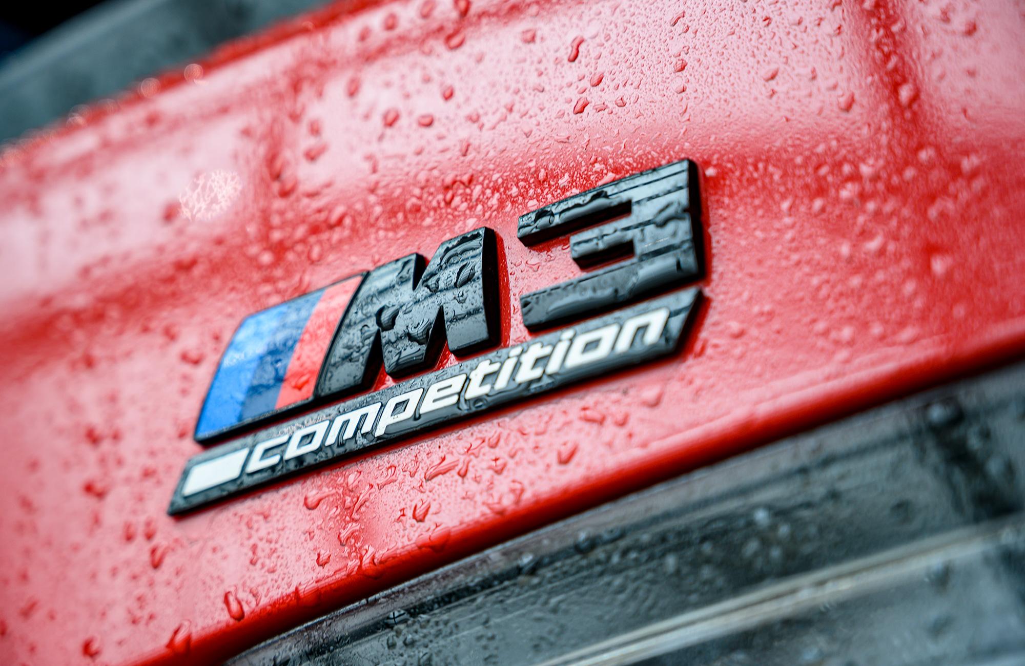 BMW G80 M3 badge