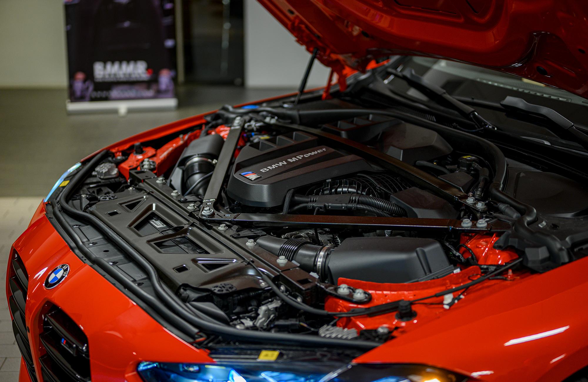 BMW S58 engine