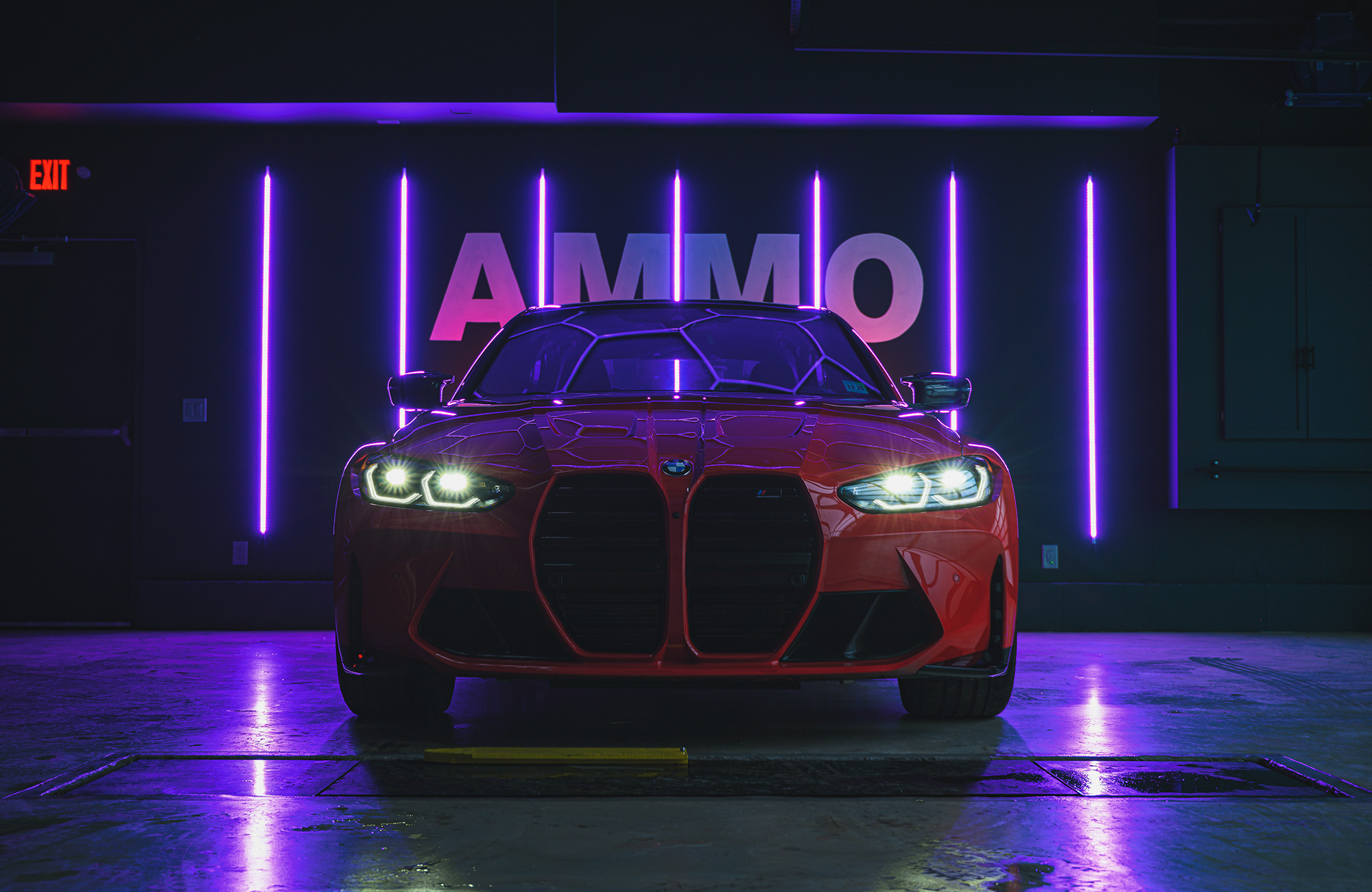 BMW G80 M3 front end