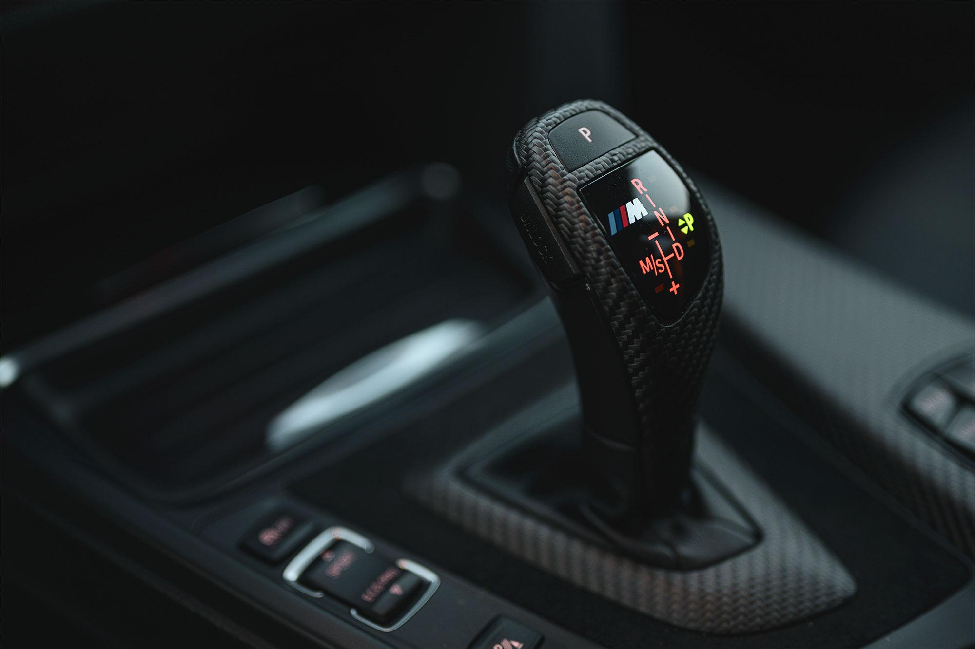 BMW 335i shifter