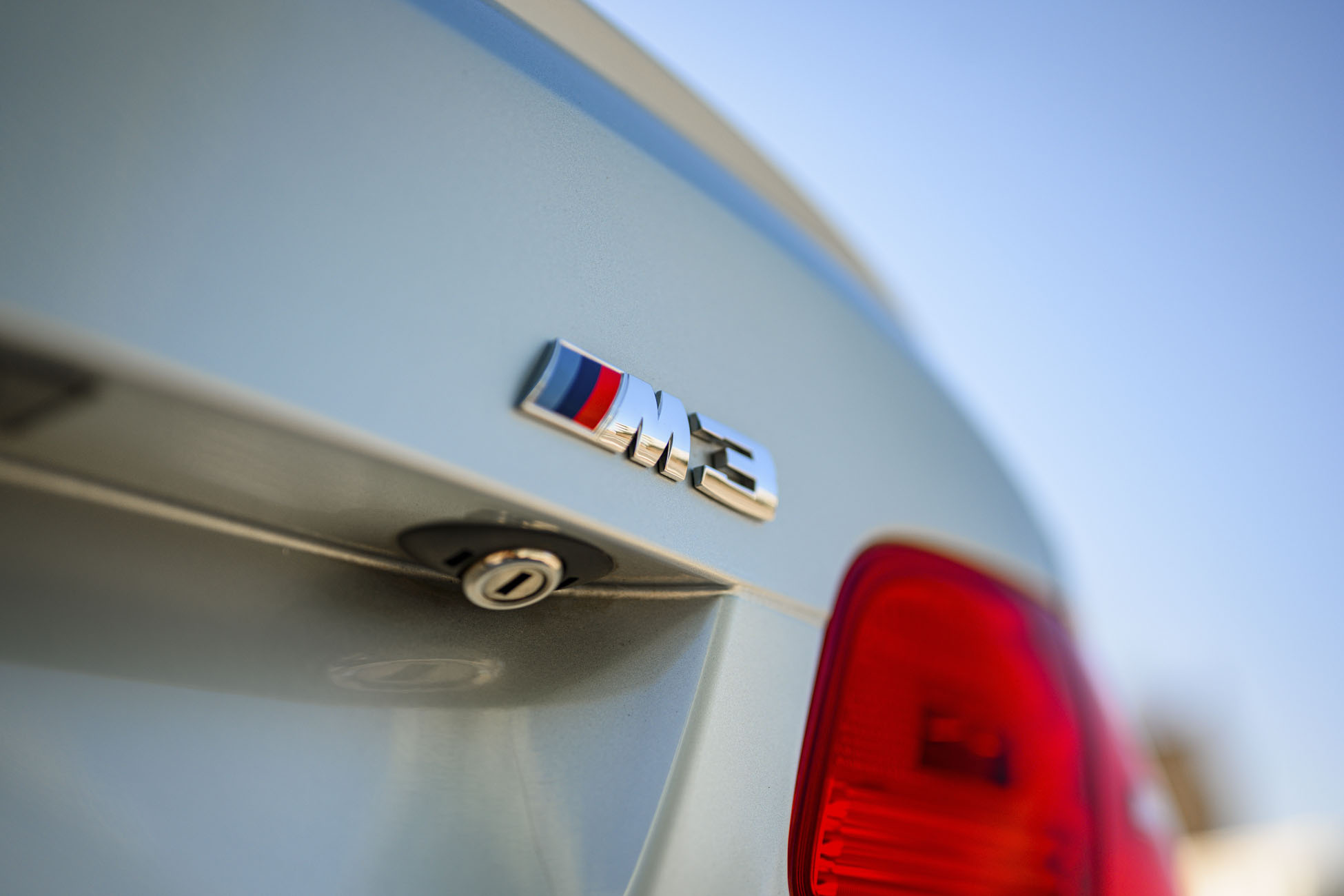 BMW M3 Coupe badge