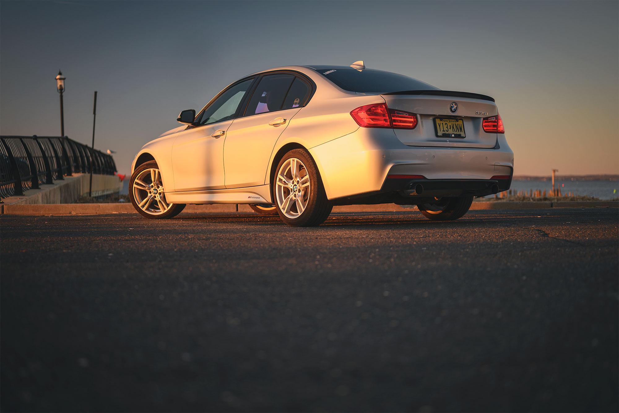BMW 335i exhaust