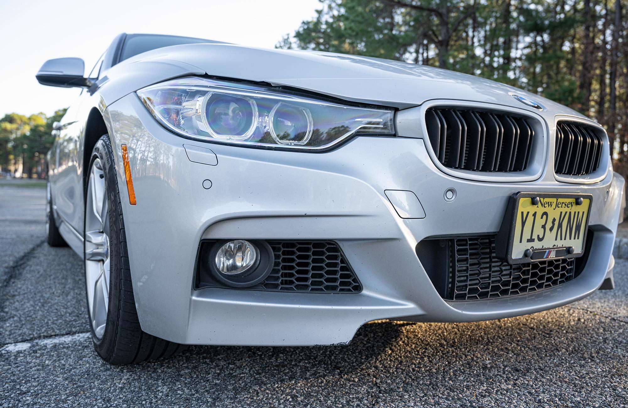 BMW 335i front end