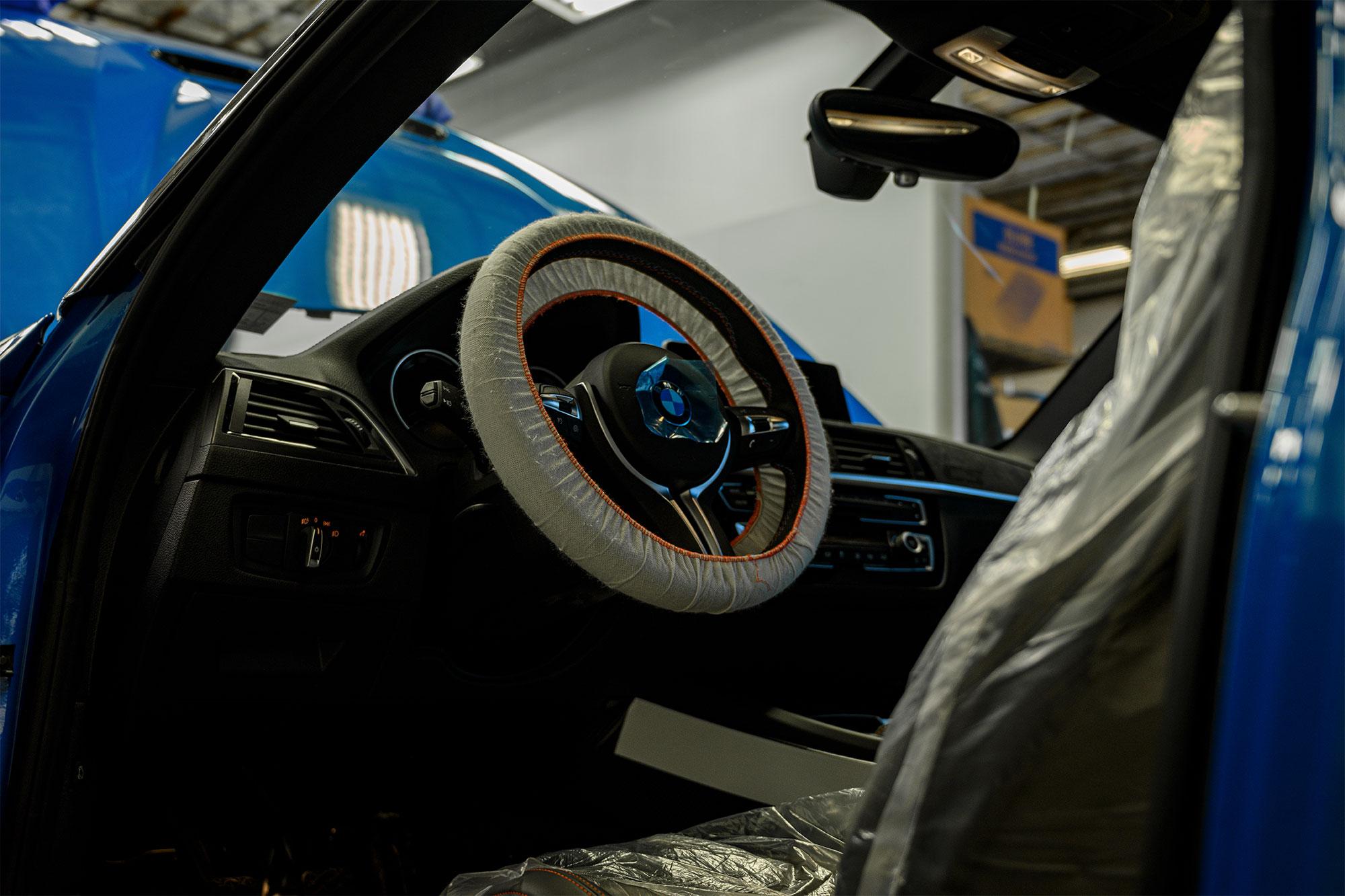 BMW M2 CS Steering Wheel