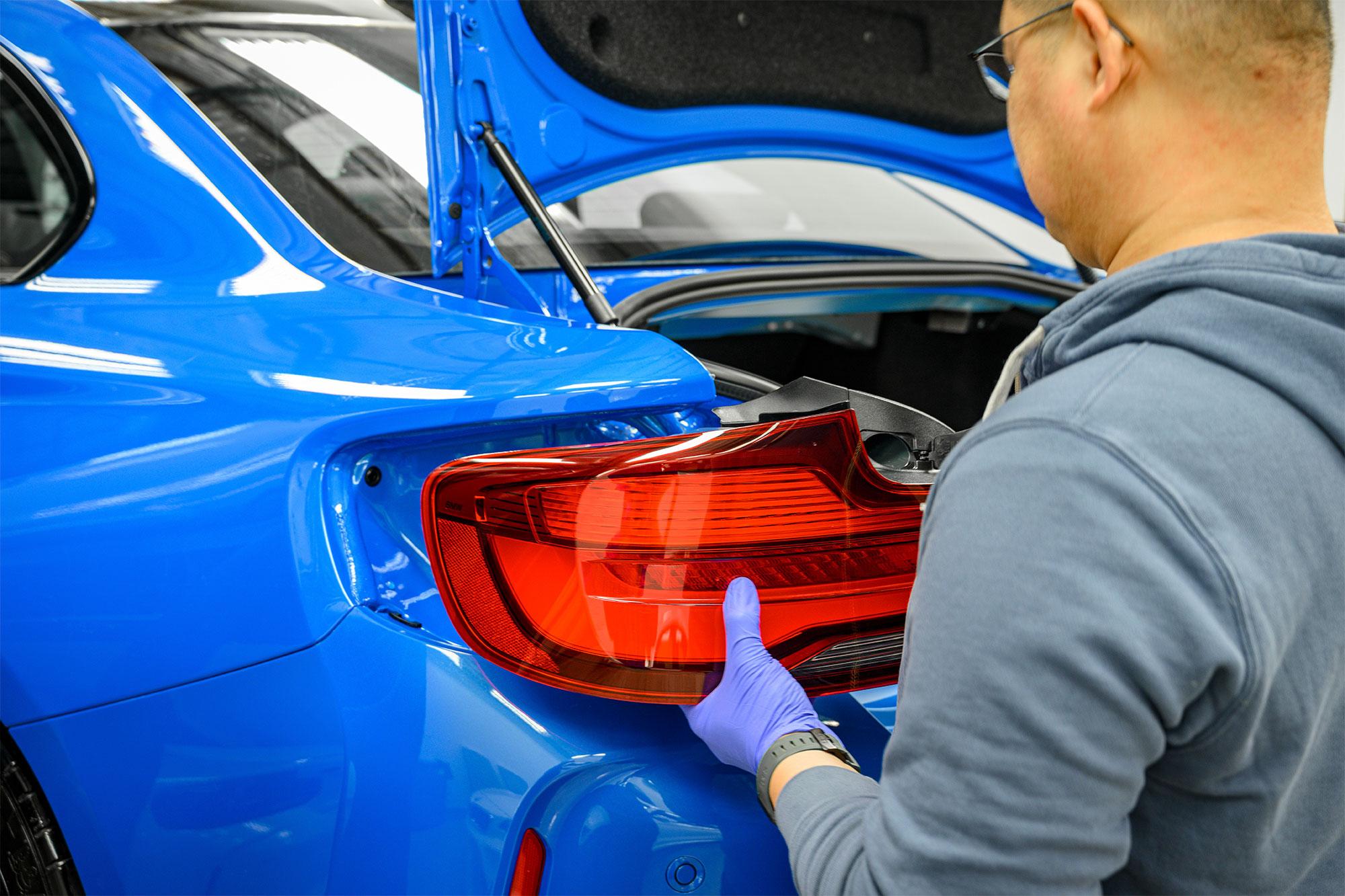 BMW M2 CS taillight