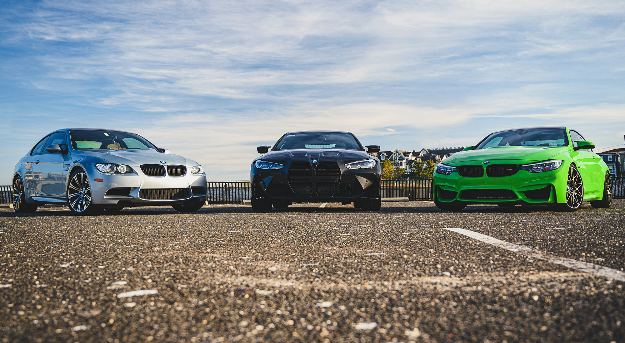 History lesson: The G82 M4 meets the F82 and E92