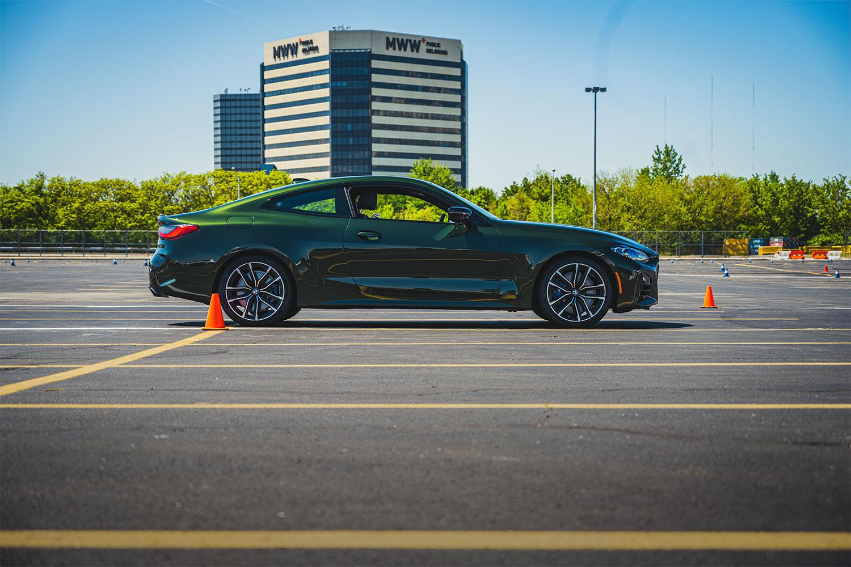 BMW M440i parked