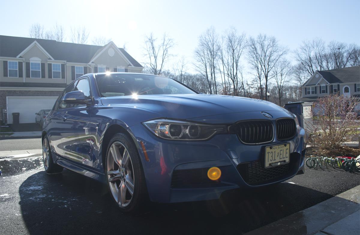 BMW 328i dry
