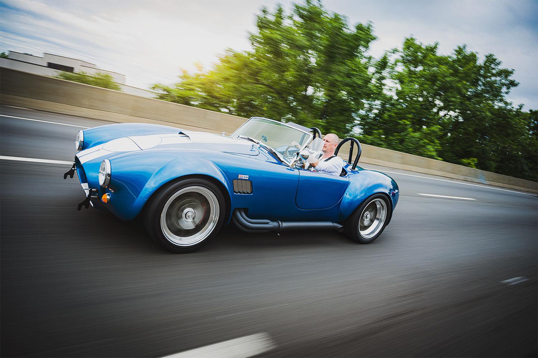 Shelby Cobra roller