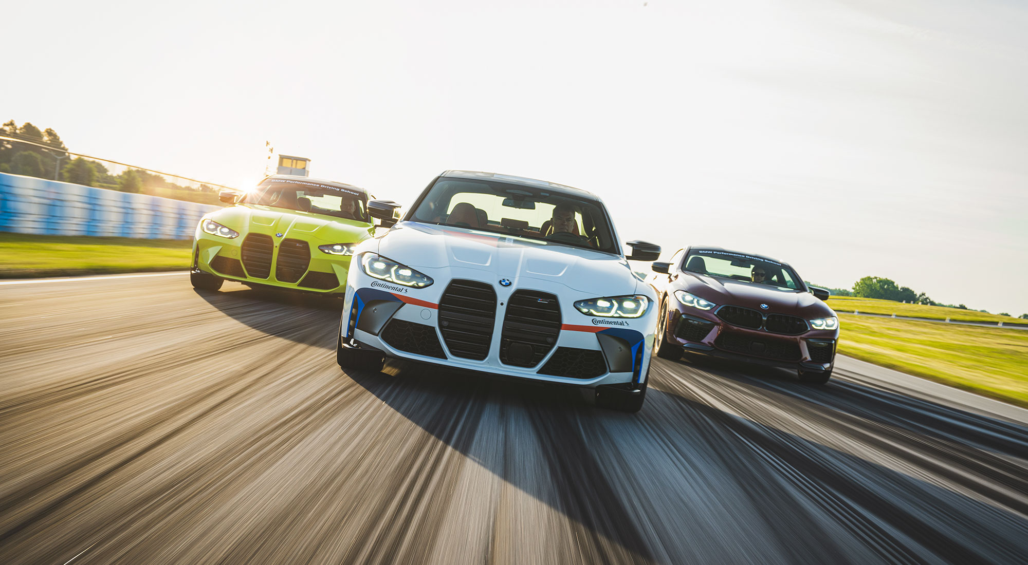 The BMW Performance Center shoot