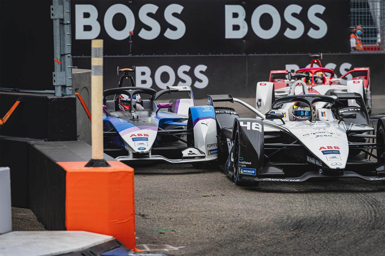 Formula E hit