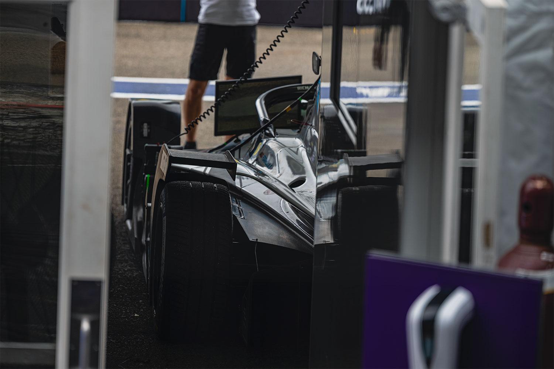 BMW Formula e garage