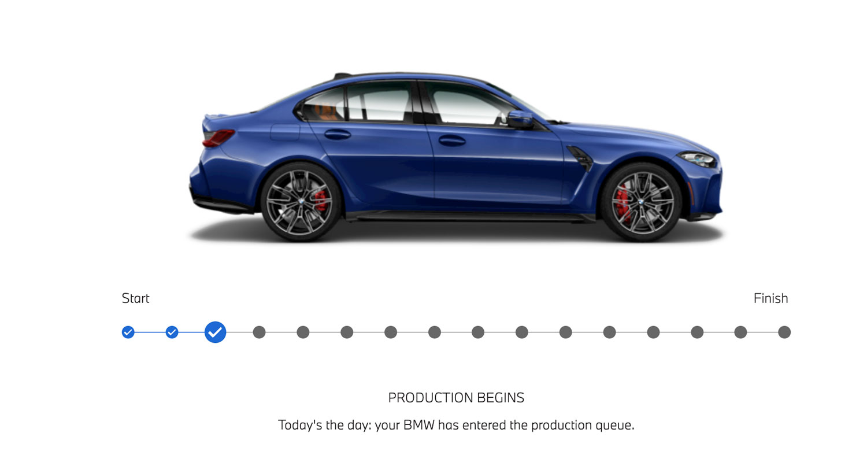 BMW M3 status