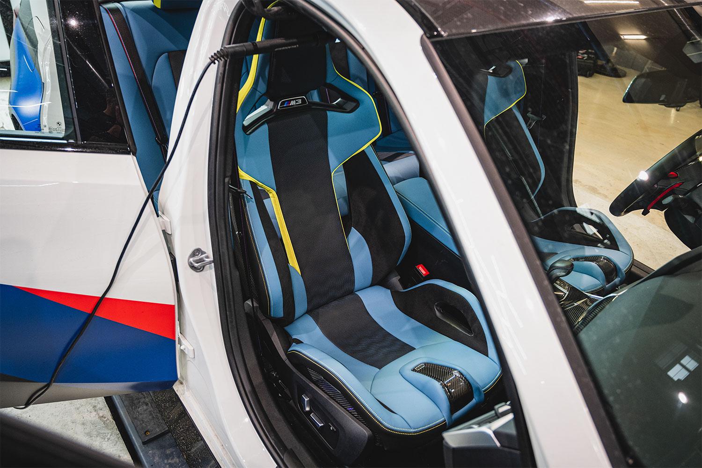 Caarbon Fiber seats