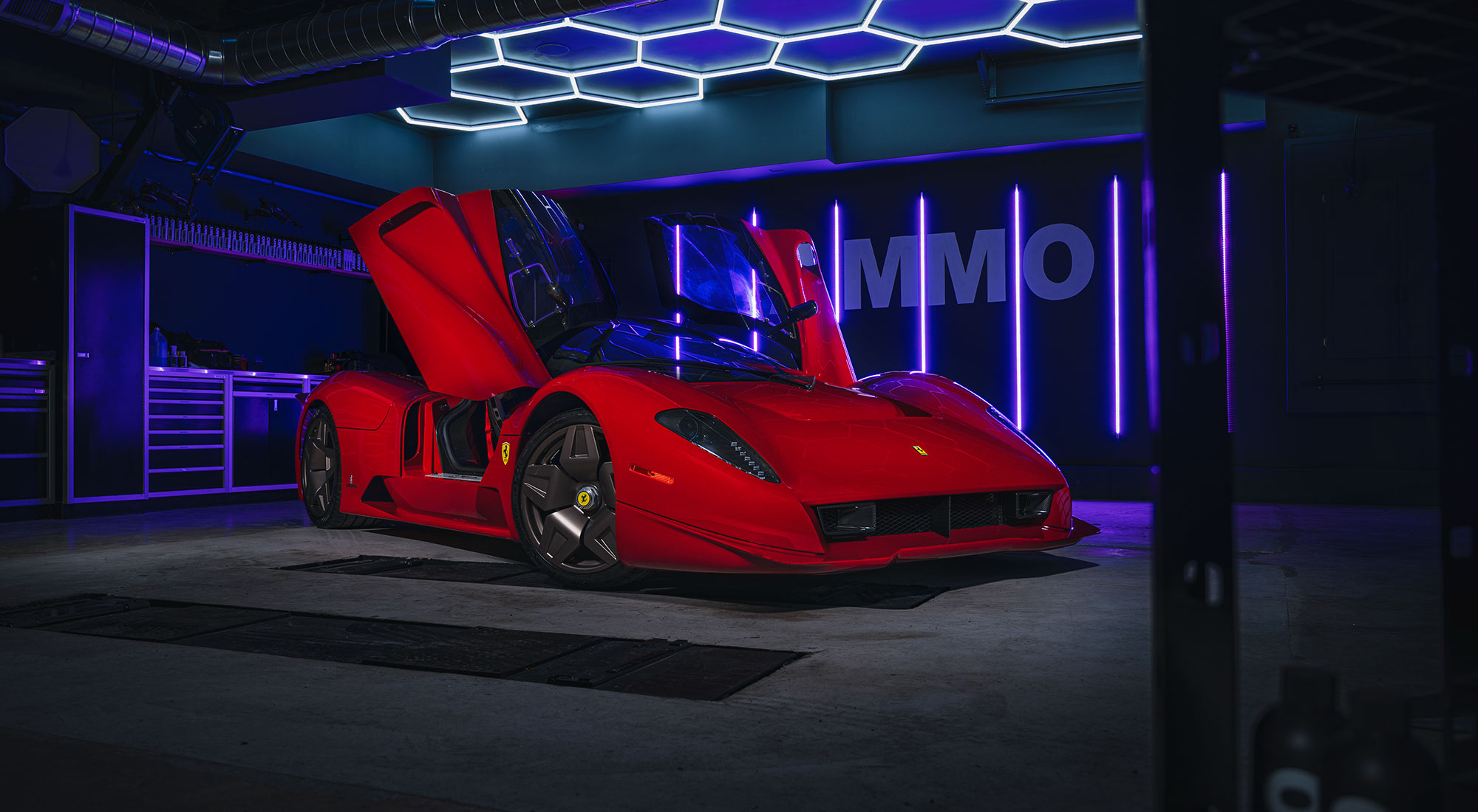 AMMO NYC Ferrari P4/5 Detail