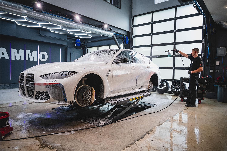 BMW M3 AMMO wash