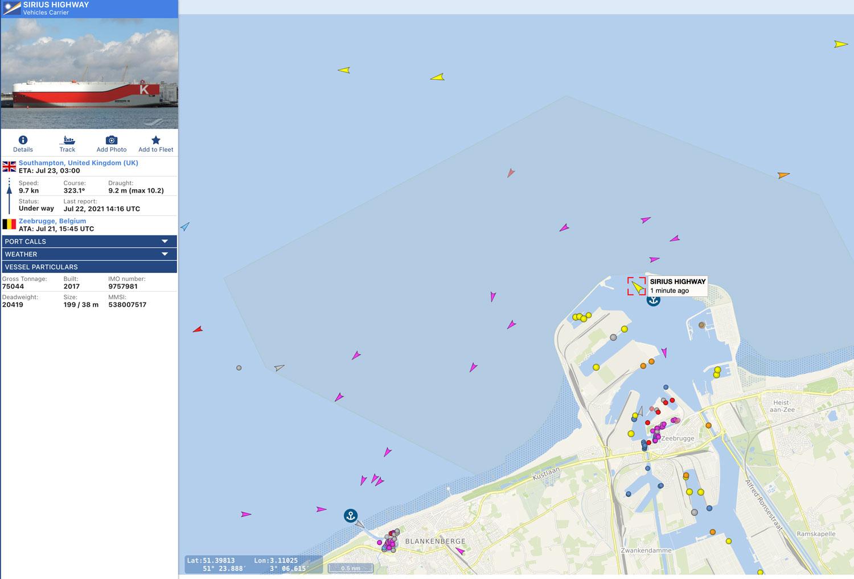 Marine tracker