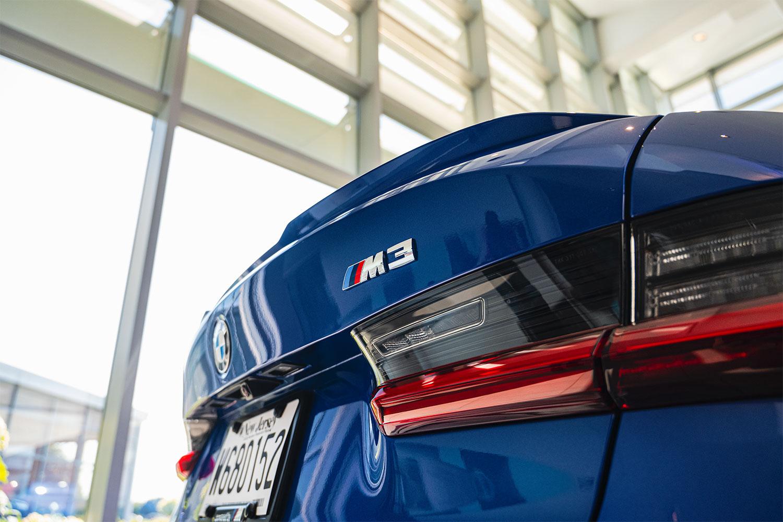 BMW lip spoiler