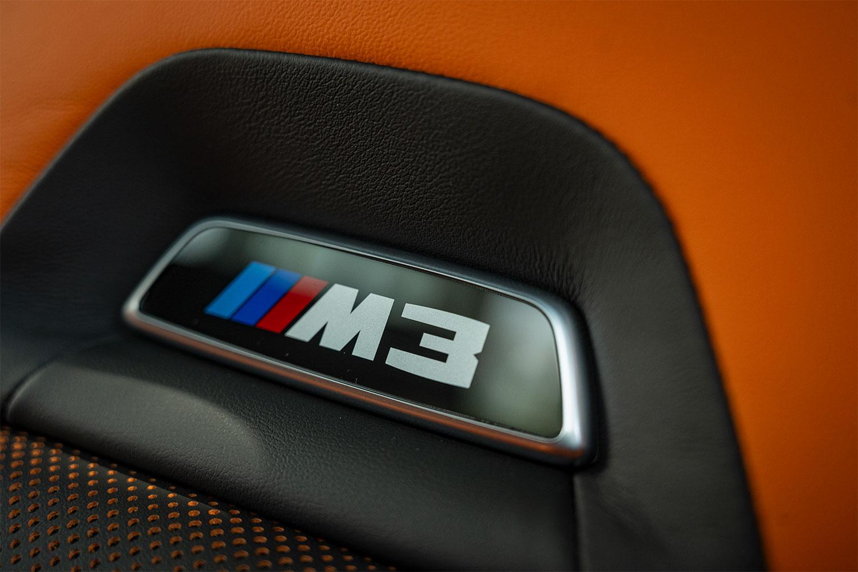 BMW M3 Seat Badge